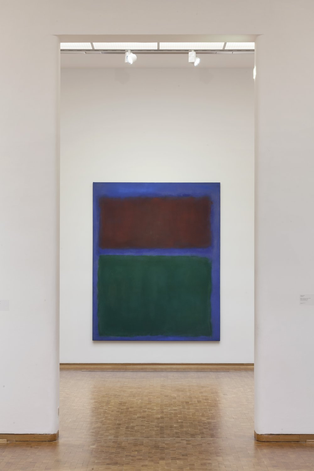... Abstract Expressionism At The Museum Ludwig, Mark Rothko, Earth And  Green, 1955, ...