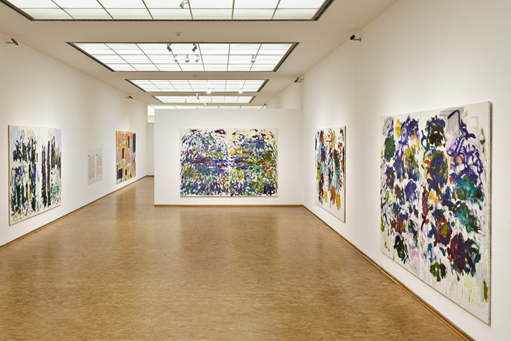 Joan Mitchell - Museum Ludwig, Cologne  Joan Mitchell -...